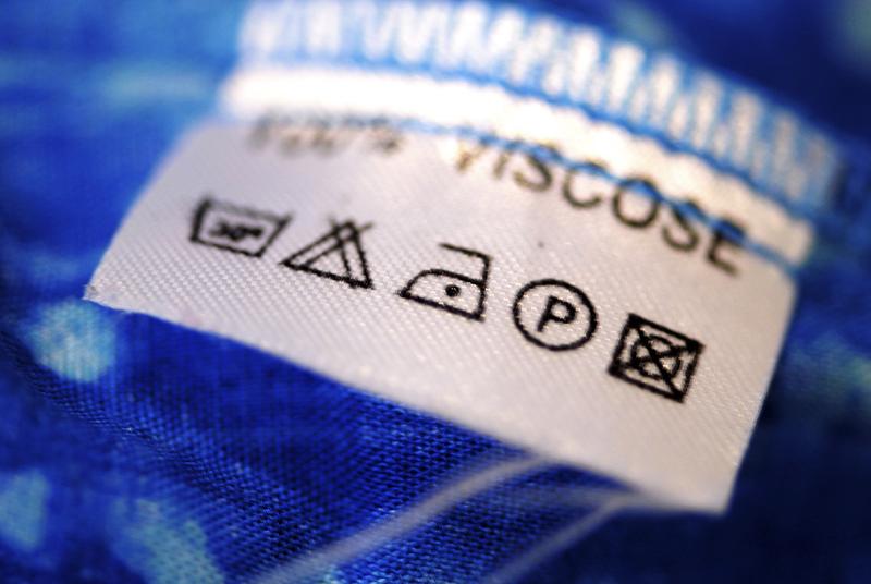 При уходе за изделиями из вискозы придерживайтесь инструкции на ярлыке