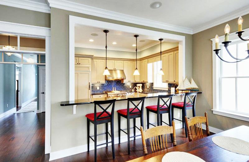 Прихоть или функциональный элемент - такая разная барная стойка на кухне