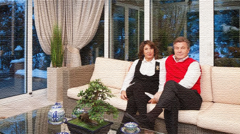 Интерьер, на который можно смотреть бесконечно: роскошная дача Льва Лещенко