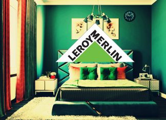 Готовый интерьер спальни от Леруа Мерлен