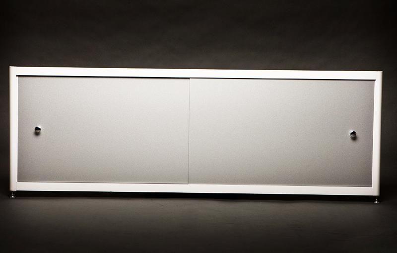 Для алюминиевых экранов под ванну характерен продолжительный срок службы