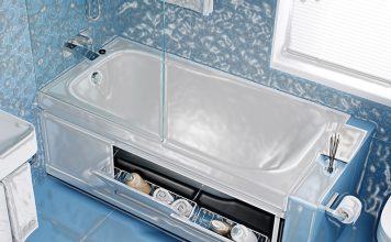 Экран под ванну: как выбрать
