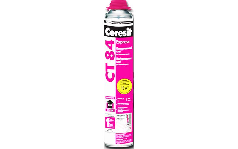 Клей для пенополистирола «Ceresit CT 84» – экономный расход