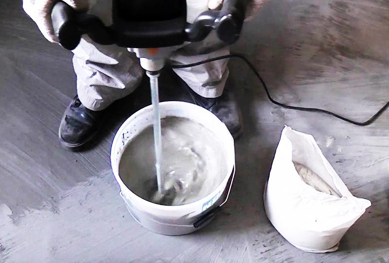 Качество сухой смеси влияет на качество готового клея