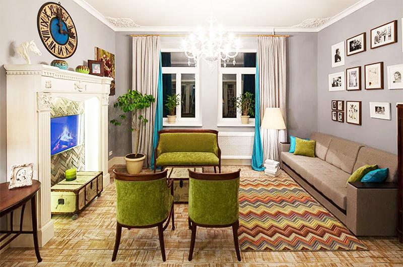 Квартира Ирины Алфёровой
