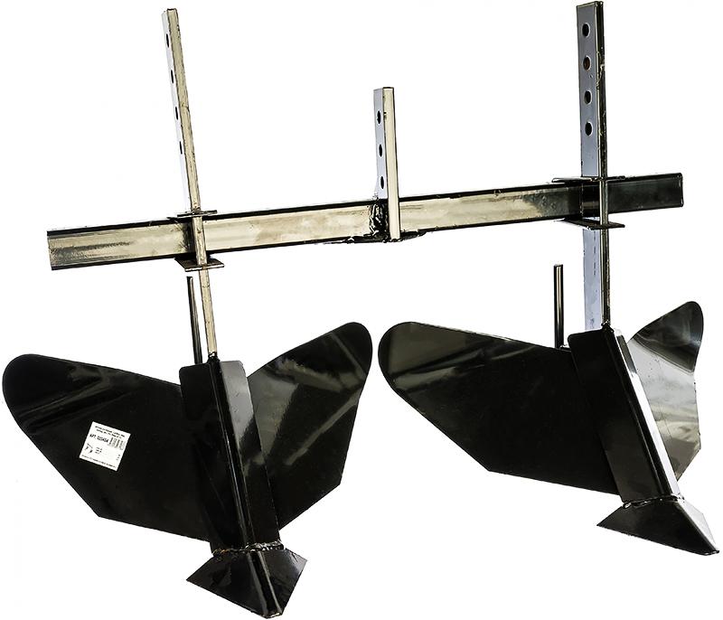 Листерный с подвижными крыльями позволяет регулировать ширину междурядной обработки. Подходит только для агрегатов мощностью не меньше 4 л.с.