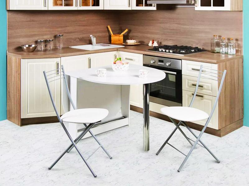 Раскладной стол со съёмными опорами