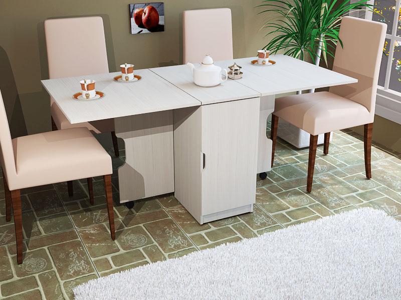 Для изготовления кухонных столов используются самые разные материалы