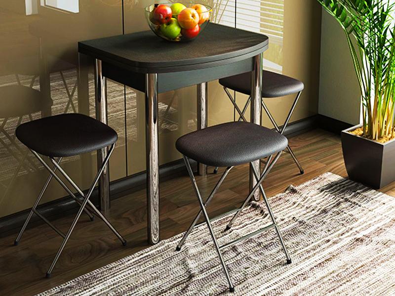 Кухонный раскладной стол 60×80 см для маленькой кухни