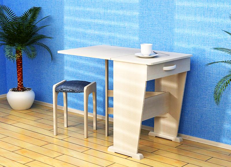 Прямоугольный раскладной стол