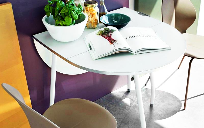 Такая конфигурация стола очень удобна