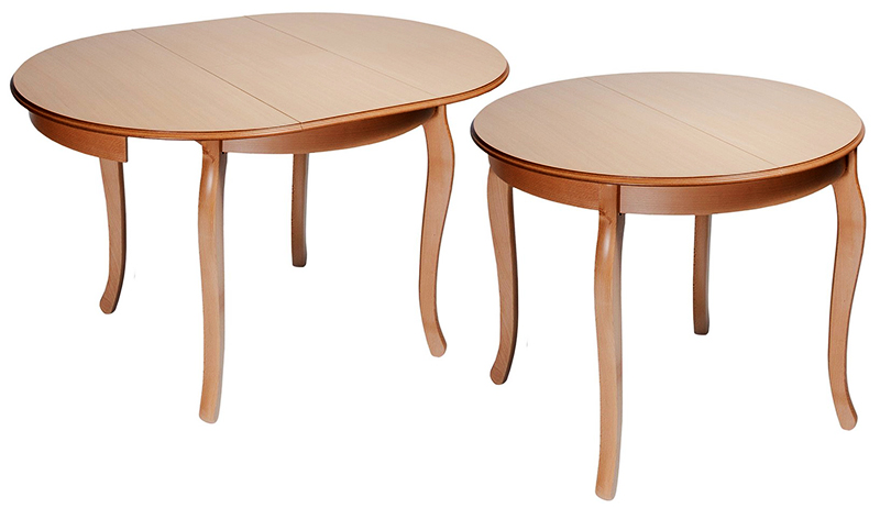Такой стол прекрасно смотрится и в кухне городской квартиры, и на даче