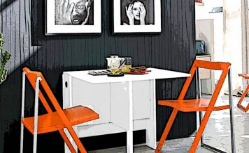 Раскладной кухонный стол для маленькой кухни