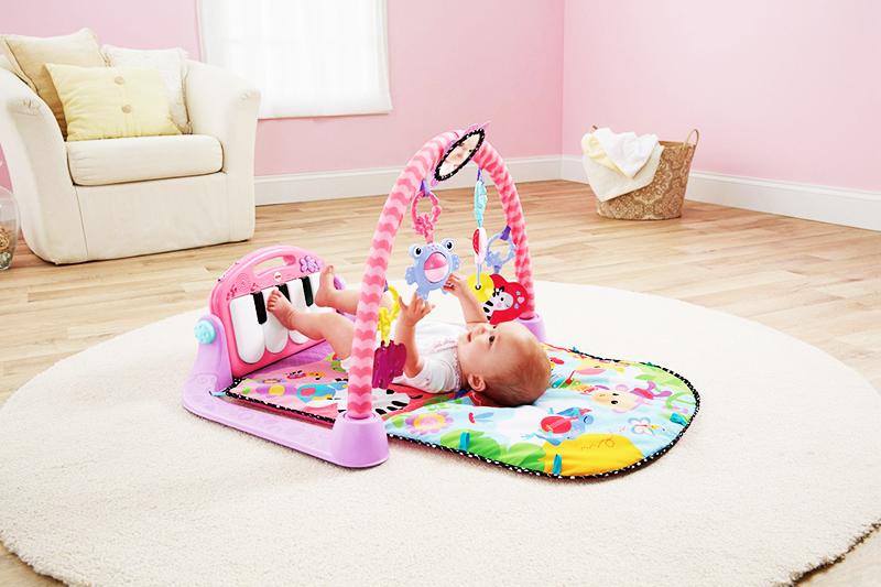 Игровая площадка должна соответствовать возрасту малыша