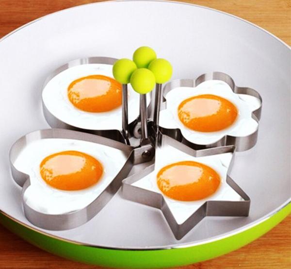 В наборе несколько видов форм, что позволит вам почувствовать себя хозяйкой кухни