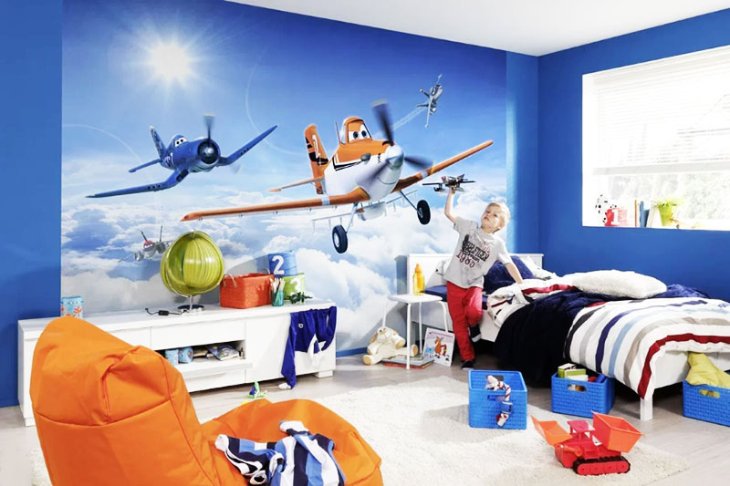 Очень популярны в современных квартирах фотообои с 3d-эффектом