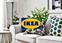 ИКЕА – весенние предложении в оформлении текстилем