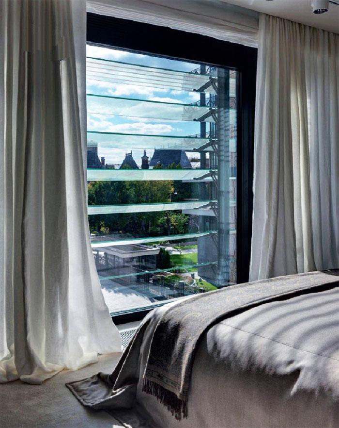 Лаконичная элегантность в интерьере квартиры актрисы и телеведущей Оксаны Лаврентьевой