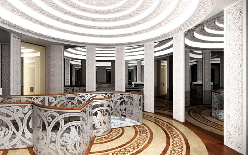 Роскошный холл