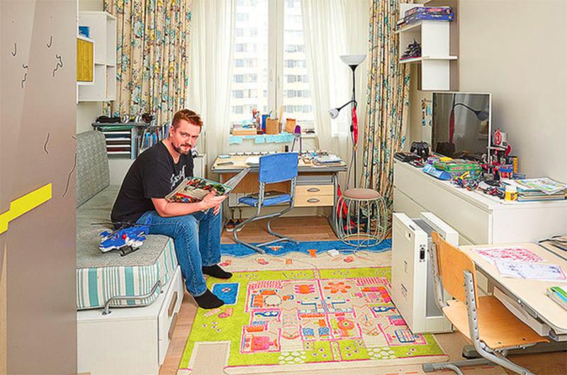 Необычная квартира эксцентричного музыканта, певца и актёра Александра Пушного