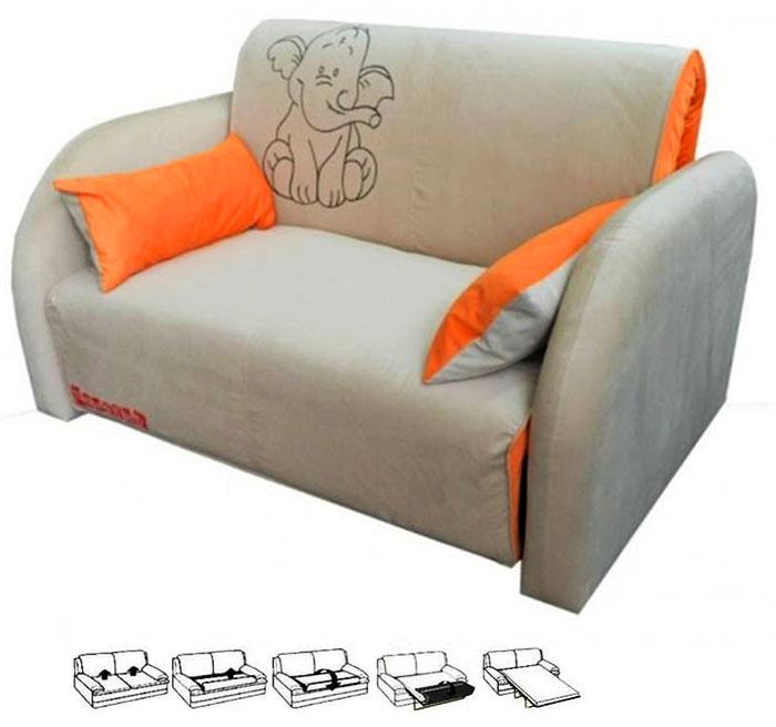 Кресло-кровать с механизмом французская раскладушка рекомендуется использовать в качестве гостевого спального места
