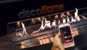Биокамин Decoflame - технология автоматического биокамина, как он работает
