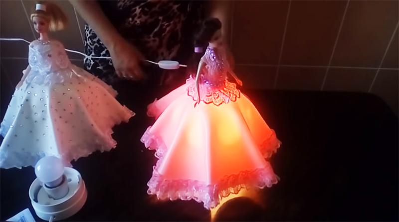 Оформить платье можно по-разному