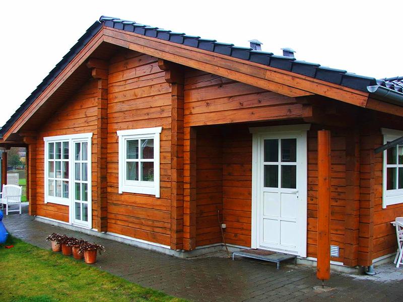 Дом и баня под одной крышей