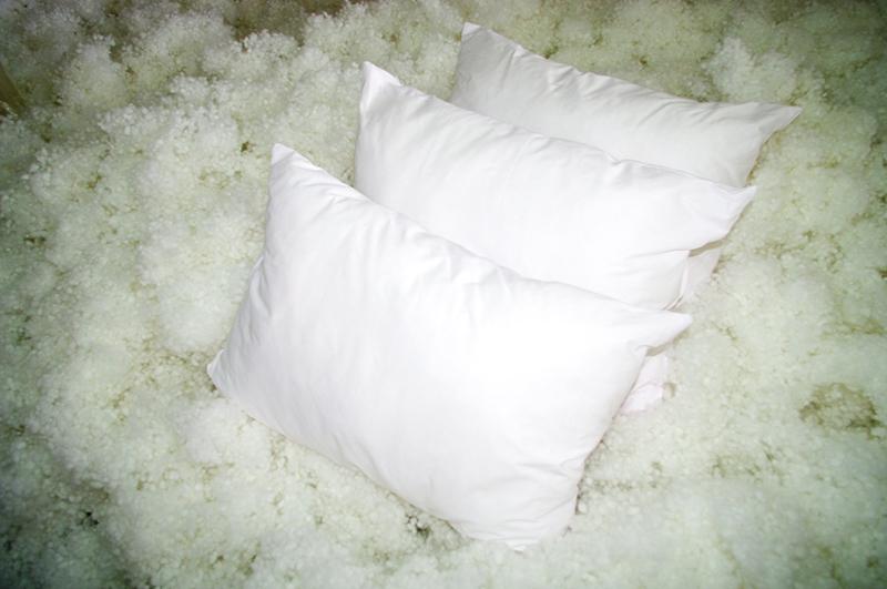 Подушка с холлофайбером отлично подойдёт аллергикам