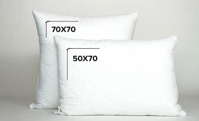 От размера подушки во многом зависит комфортность сна