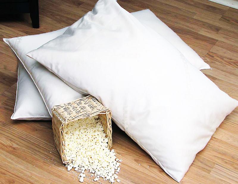 Наполнители для подушек могут быть самыми разными