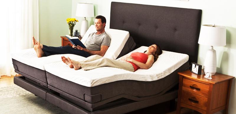 Кровать «Семи-Флауэра», имеющая семь степеней регулировки. Рекомендуется людям с хроническими болезнями спины, отёками ног и т.п.