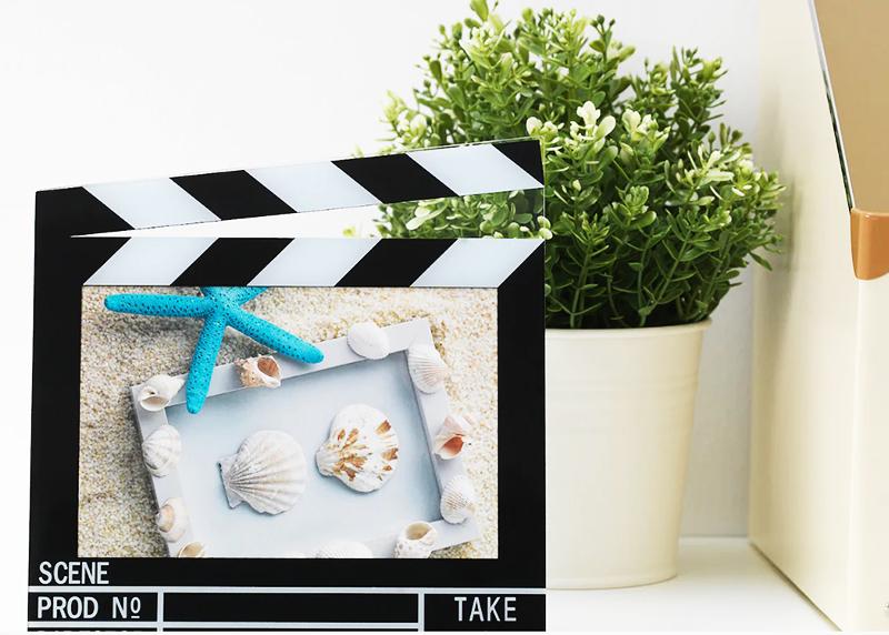 Идеальная фоторамка для любителей киносъёмок