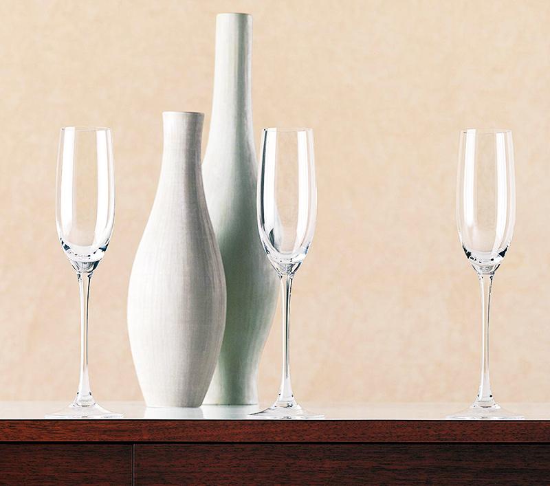 Разновидности бокалов для шампанского