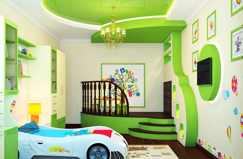 Главное, чтобы детям нравилась их комната