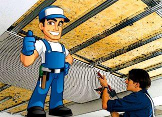 Шумоизоляция потолка в квартире своими руками