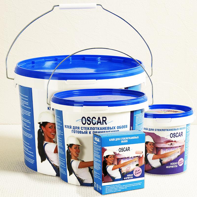 Этот же производитель выпускает и один из самых надёжных клеев для стеклохолста «Паутинка» – «Оскар»
