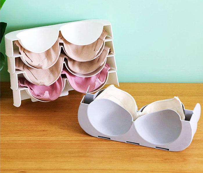 Новый модный дизайн позволяет без труда разместить бельевой органайзер как в ванной, так и в шкафах