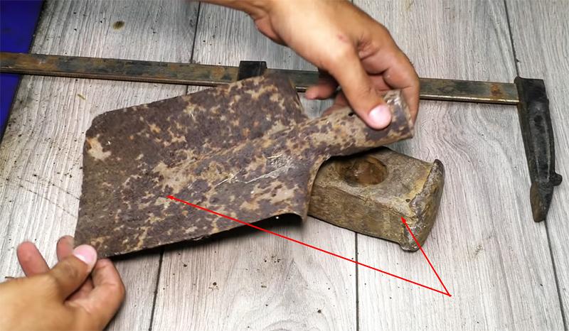 Восстановление инструмента