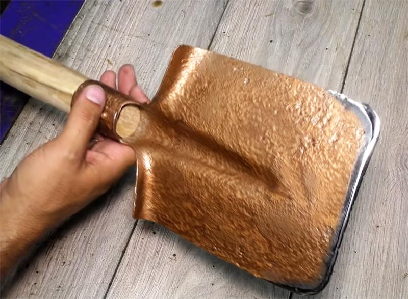 Лопата готова продолжать «трудиться» на благо человека