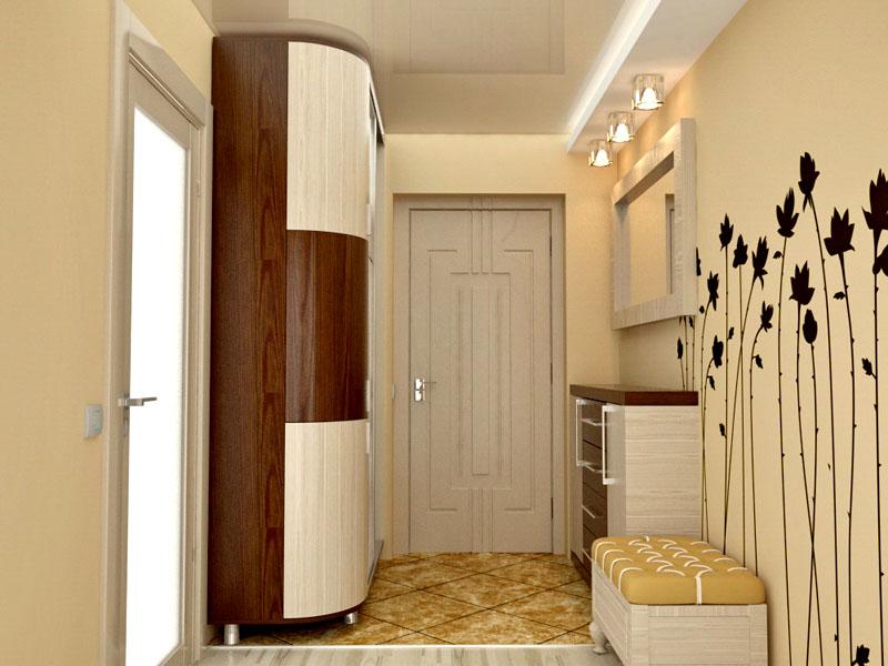 Дизайн коридора в хрущёвке