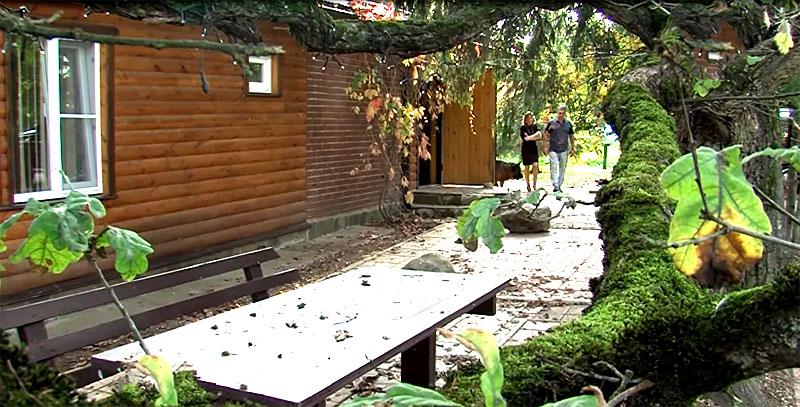 Загородный домик Александра Мясникова