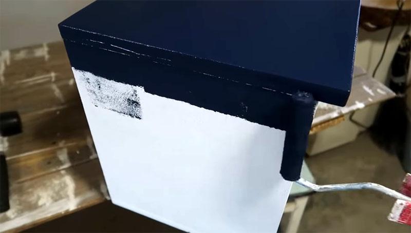 Окраска грунтованной поверхности также несложна