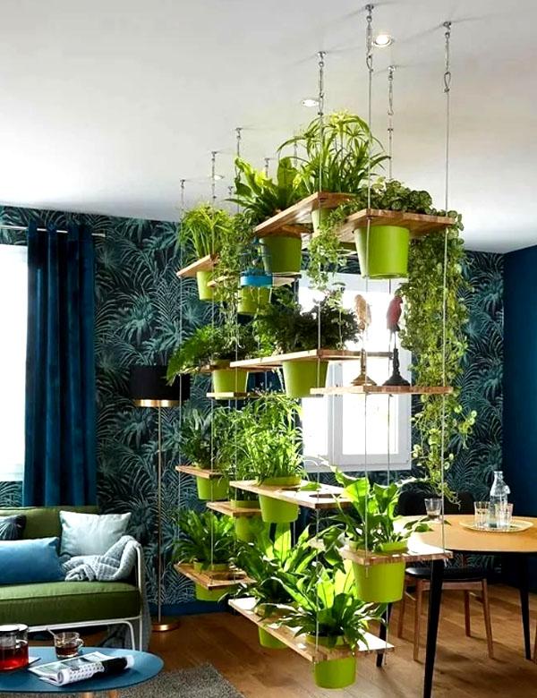 Учитывайте в будущем расположение контейнеров ─ светолюбивым растениям лучше находиться ближе к окну, а высокие саженцы не должны загораживать солнце низкорослым