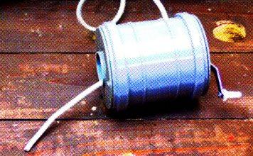 Как сделать портативную переноску на катушке