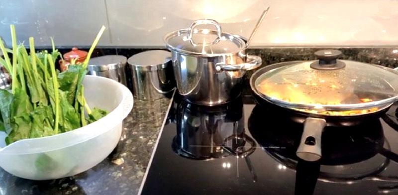Ляйсан постоянно балует домочадцев вкусной и здоровой пищей