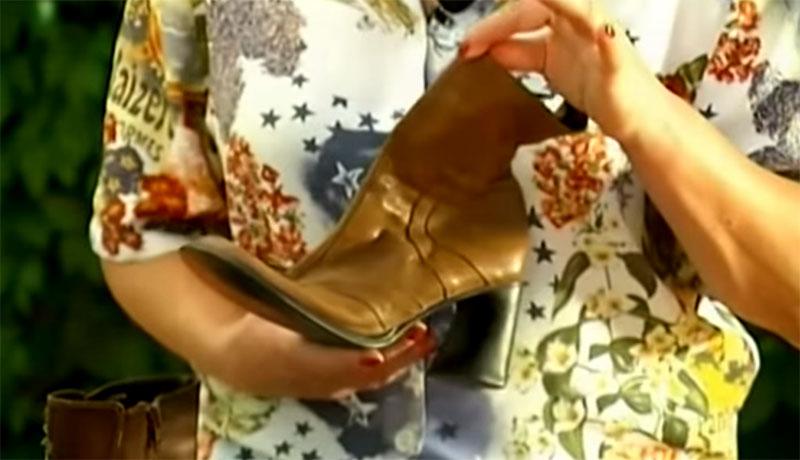 Мини-клумбы для цветов в ношеной обуви