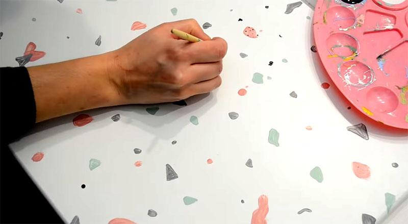 «Терраццо» вручную – это очень интересный проект
