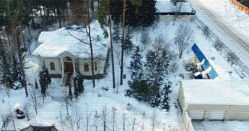 Небольшой мансардный дом Юрия Лозы