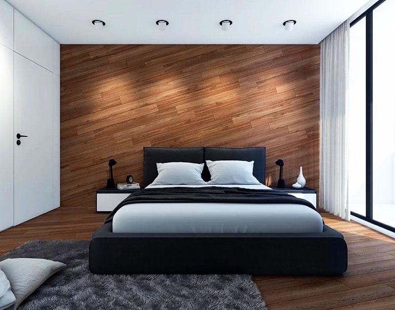 Новое слово в дизайне - ламинат на стене: фото в интерьере